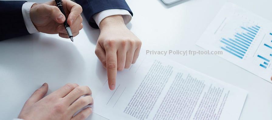 Privacy Policy frp-tool.com