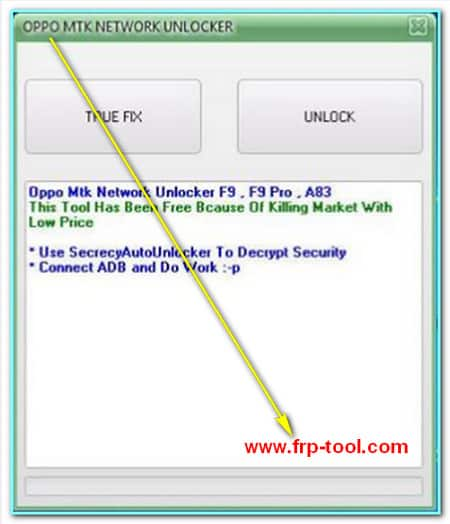 Oppo Network Unlock Tool
