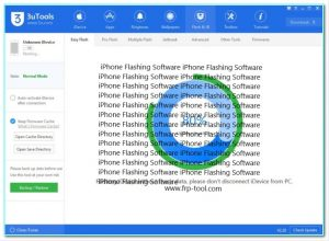 iPhone Flashing Software